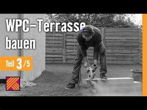 version 2013 wpc terrasse bauen kapitel 3 randsteine setzen