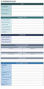 Free Strategic Planning Templates  With Images