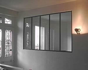 Fenetre Interieure Dans Cloison : defi m tallerie verrieres d 39 int rieur et portes ~ Melissatoandfro.com Idées de Décoration