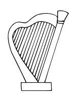 musical instruments coloring pages bybel pinterest