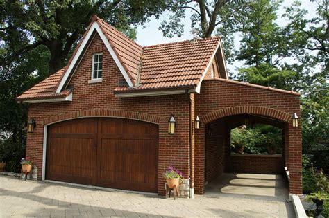 Brick Garage Designs Are Quite Simple And Unique