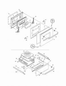 Frigidaire Model Fgb24l2eca Wall Oven  Gas Genuine Parts