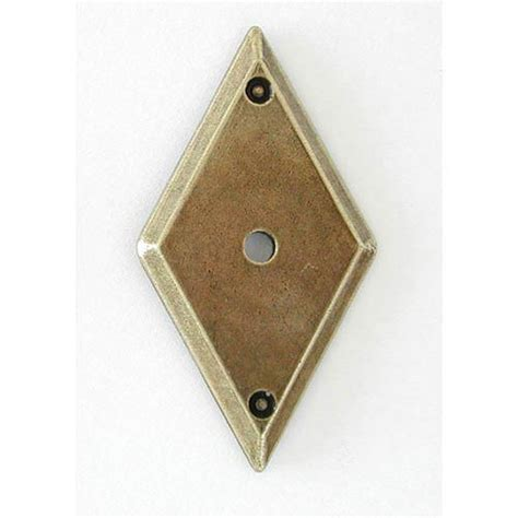 Cabinet Knob Backplate Antique Brass by 992hl19 7005 68