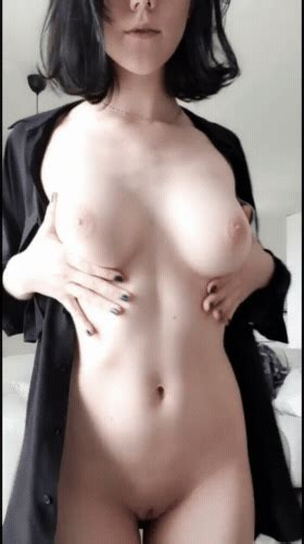 Teen Brunette Sexy Shavedpussy Tease Tits AnimatedGif