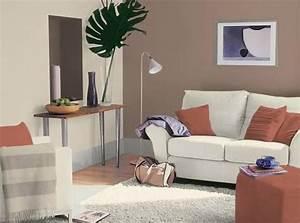 deco salon taupe et lin With attractive mur couleur lin et gris 6 idee rellooker maison