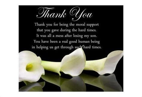 You can print at home or email personalized thank you cards from gotfreecards.com. How to Write Thank You Cards for Funeral | Free & Premium Templates