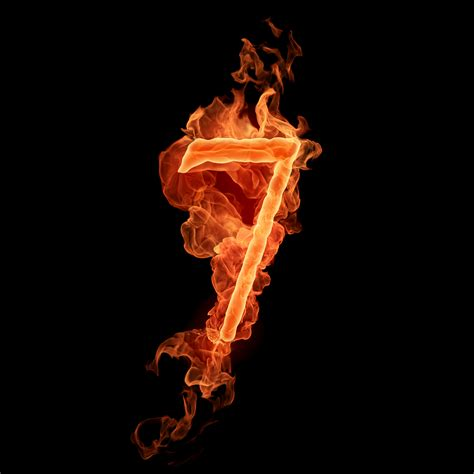 Numerology images The number 7 HD wallpaper and background