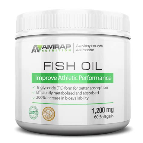 fish oil processed by triglyceride form fish oil capsules amrap nutrition