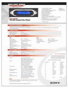 Sony Cd Wiring Diagram