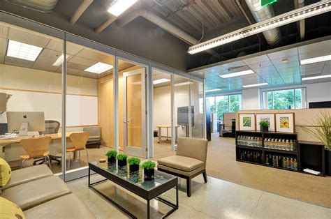 real estate office design office building tour photographers aerial photo Contemporary