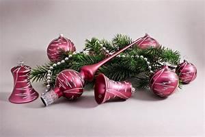 Weihnachtskugeln Aus Lauscha : christbaumschmuck aubergine matt christbaumkugeln ~ Orissabook.com Haus und Dekorationen