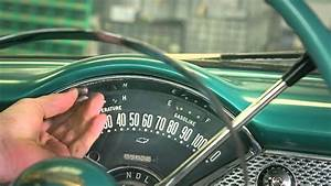 How To Remove The Instrument Cluster From A 1955