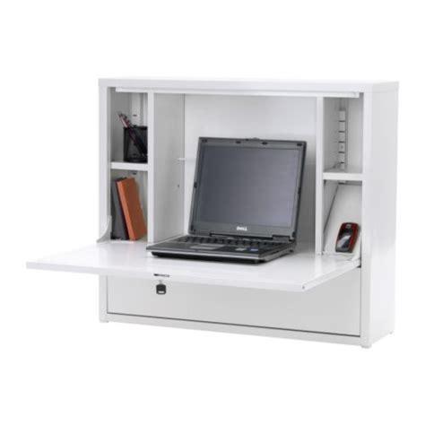 Wall Mounted Laptop Desk Ikea by Workalicious Fold Away Wall Desk Ikea