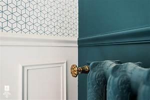 Peindre Sur Du Métal Déjà Peint : papier peint et peinture 3 blog au fil des couleurs papiers peints et d cors muraux ~ Farleysfitness.com Idées de Décoration