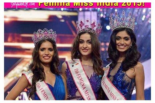 baixar femina miss india 2015 contestants list