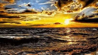 Waves Sunset Sea Tenor