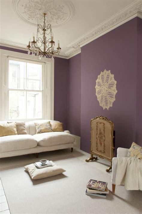 chambre parme et beige 80 idées d 39 intérieur pour associer la couleur prune