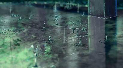 Rain Anime Aesthetic Gifs Animated Gintoki Tsukuyo