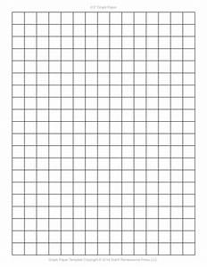 1/4 Inch Graph Paper Template | World of Printable and Chart