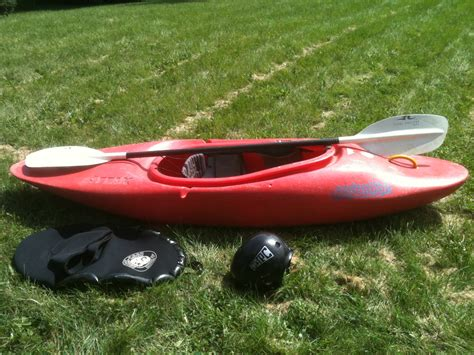 Canoe Slalom Boat For Sale by For Sale Pyranha Attack Whitewater Kayak Benscreek