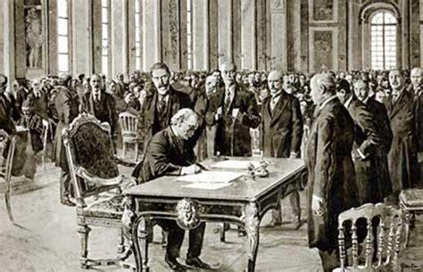 treaty  versailles timeline timetoast timelines