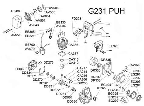 Baja Engine Diagram by G231puh Parts Diagram