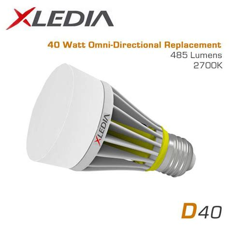 xledia d40l 40 watt equal a19 led for fully enclosed