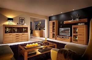 Möbel As Wohnwand : nestor plus wohnwand kernbuche lackiert ~ Watch28wear.com Haus und Dekorationen
