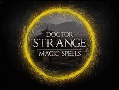 Strange Doctor Magic Spells Behance