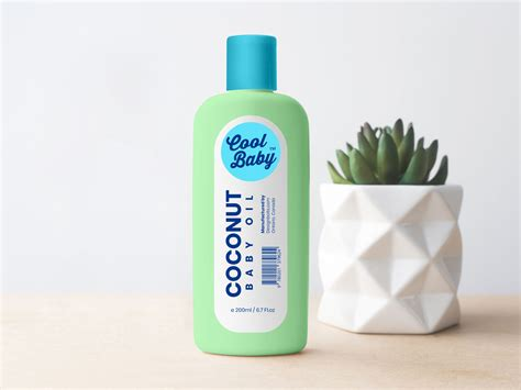 Psd file consists of smart objects…. Free Baby Cream / Oil Plastic Bottle Mockup PSD - Designbolts