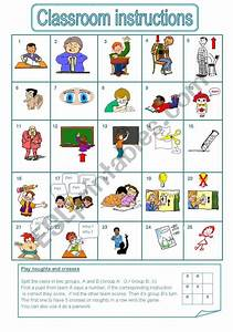 Classroom Instructions  A Game  Editable