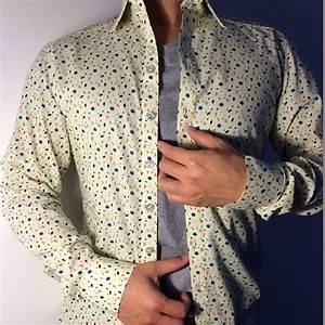 Cool Men's Floral Print Dress Shirt - Mensfash