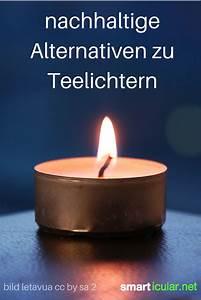 Teelichter Ohne Alu : 7 kologische alternativen zu teelichtern und ~ A.2002-acura-tl-radio.info Haus und Dekorationen