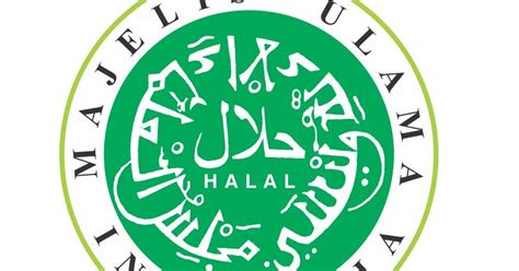 logo halal mui   desain