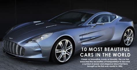 10 Most Beautiful Cars In The World