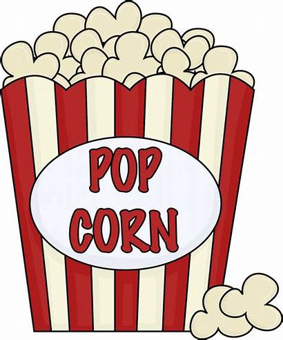 Movie Clip Clipart Night Popcorn Theater Clipartion