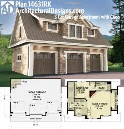 Surprisingly Car Garage Apartment Floor Plans by Plan 14631rk 3 Car Garage Apartment With Class Carriage