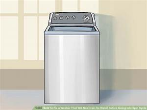 3 Ways To Fix A Washer That Will Not Drain Its Water