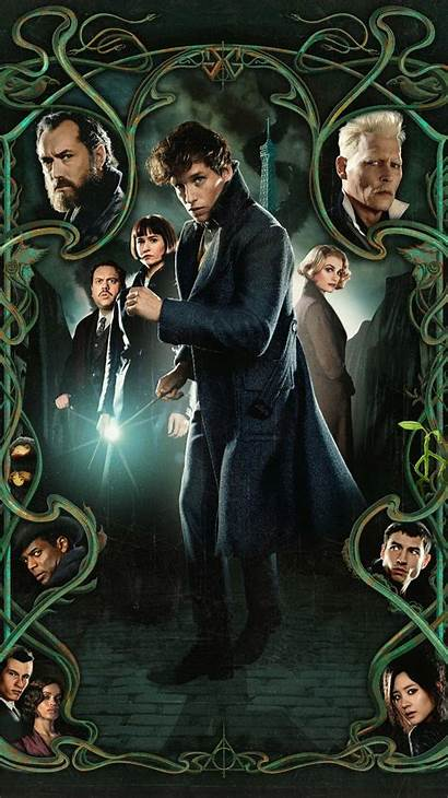 Beasts Fantastic Grindelwald Crimes Phone Moviemania Dumbledore