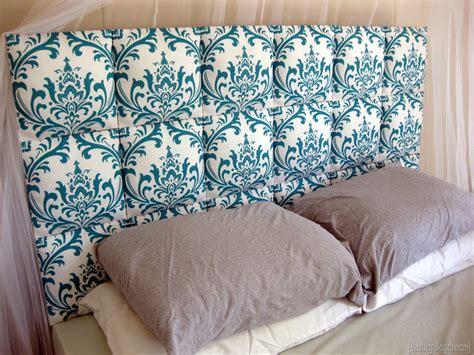 diy upholstery easy upholstered headboard tutorial reality daydream