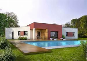 Façade Maison Moderne : fa ade maison moderne avec couleur facade maison ~ Melissatoandfro.com Idées de Décoration