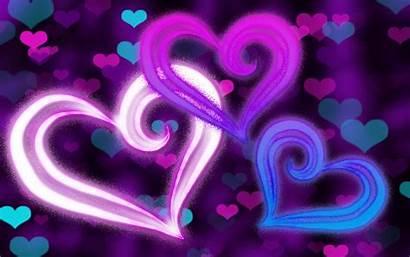 Hearts Purple Backgrounds Desktop Wallpapers Nexus