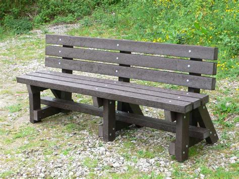 Outdoor Furniture Kedelcouk Recycled Plastic Bench