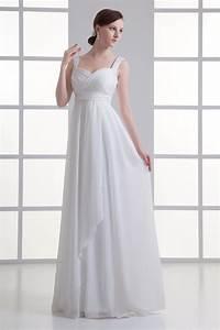 robe mariee empire ruche avec bretelles ceinture de bijoux With robe mariee avec achat de bijoux