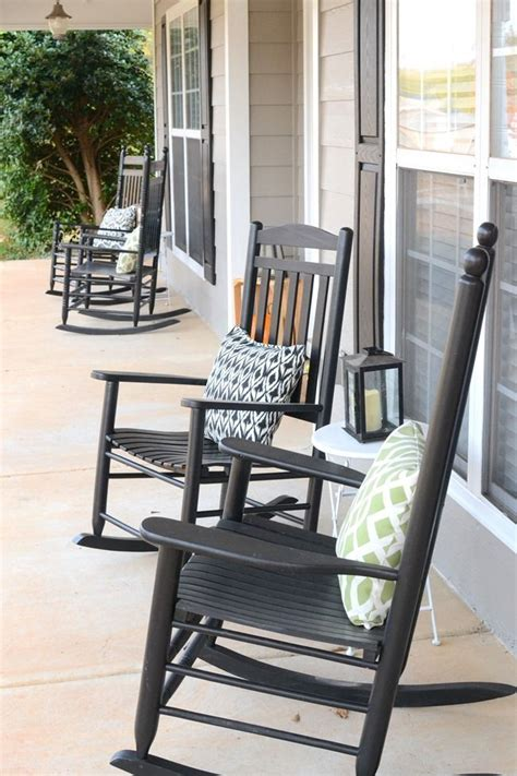 a rocking chair front porch frugal homemaker diy