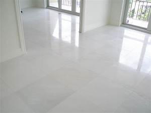 White porcelain floor tile 24x24 for How to clean white tile floors
