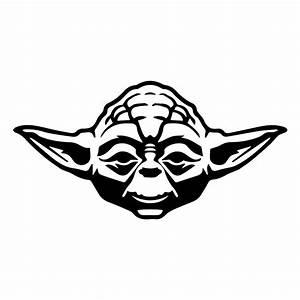 Yoda Sticker - £1.99 : Blunt.One, Affordable bespoke vinyl ...