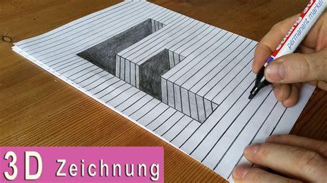 3d Zeichnen by 3d Zeichnung Papier F Diy