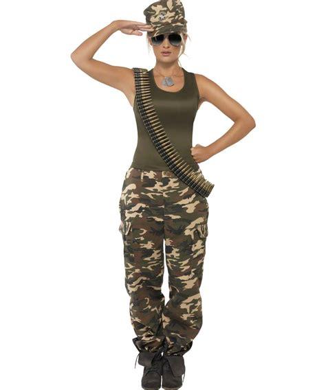 deguisement soldat femme armee americaine