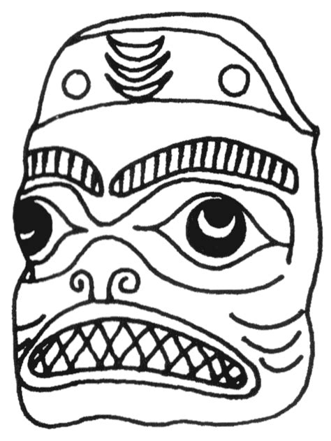 aztec mask template funky aztec mask template ornament themes ideas flyboards info